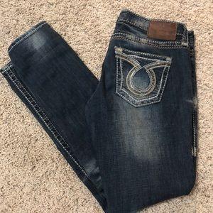 Big Star straight leg jeans size 28